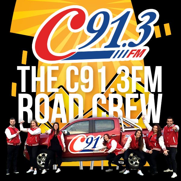 C91.3 ROADCREW heading to our Picton Office