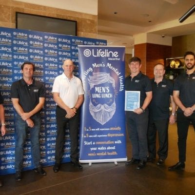 CMC Supports Men's Long Lunch 2019