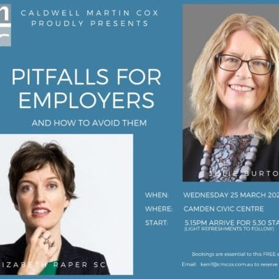 Pitfalls for Employers – And How to Avoid Them