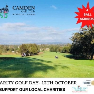 Charity Golf Day – 12th October 2020