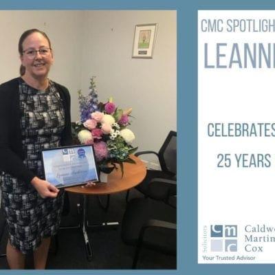 CMC Spotlight: Leanne Anderson